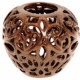 Bronze Fleur De Lys Tealight Candle Bowl from Shudehill 35622